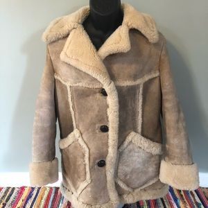 80s American Sheephearder Jacket Sheepskin Coat